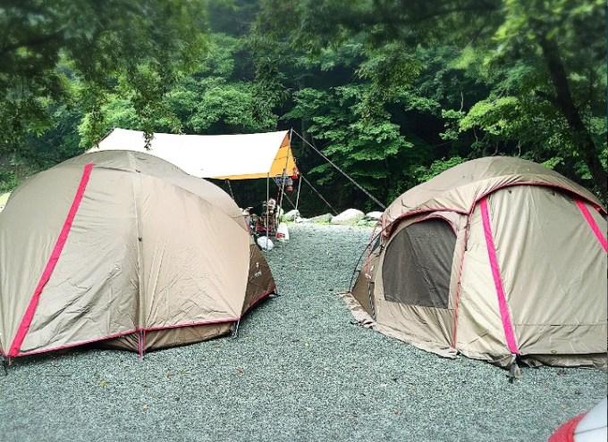 バウアーハウスジャパンのキャンプ風景