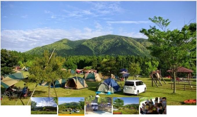 オートキャンプ森のかわなべの風景
