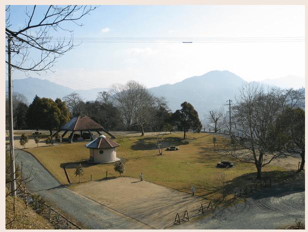 大洲家族旅行村オートキャンプ場の風景