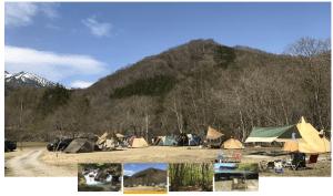 桐の木平キャンプ場の様子