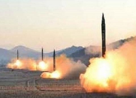 早朝に行われた北朝鮮の弾道ミサイルの発射