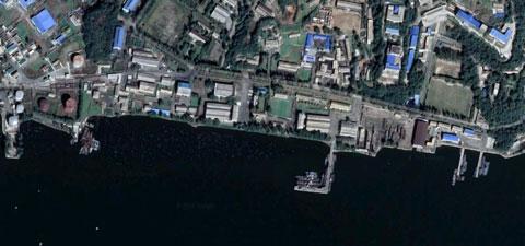 北朝鮮海軍南浦基地