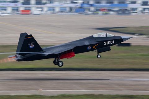 中国が開発中のJ-31