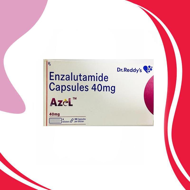 AZEL  40MG 28CAPS Противоопухолевая терапия. Индия