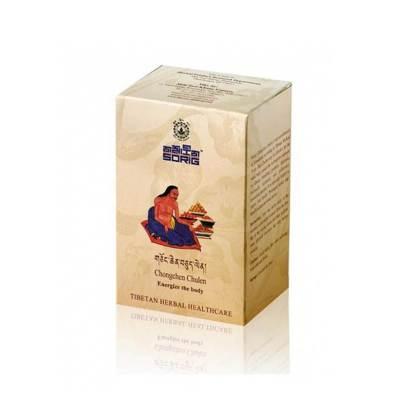 Тибетский чай для Нервной системы. Chongchen Chulen (30 пак. по 2 г)