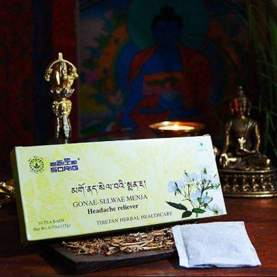 Тибетский чай от Головной Боли. Gonae-Selwae Menja (10 пак)