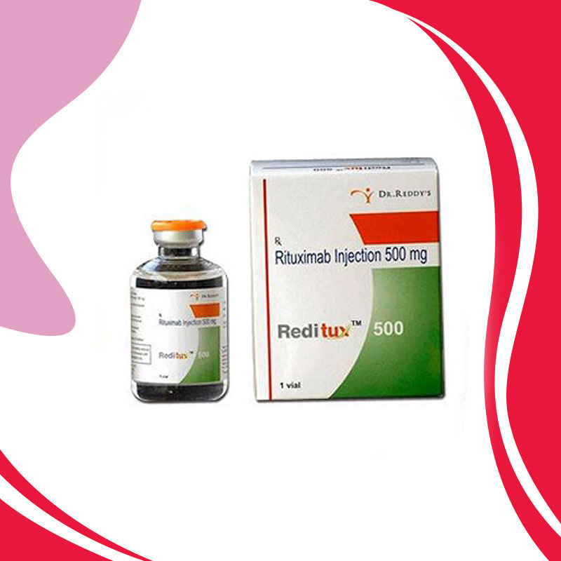 REDITUX 500MG. Ритуксимаб. Лечение раковых заболеваний. Индия