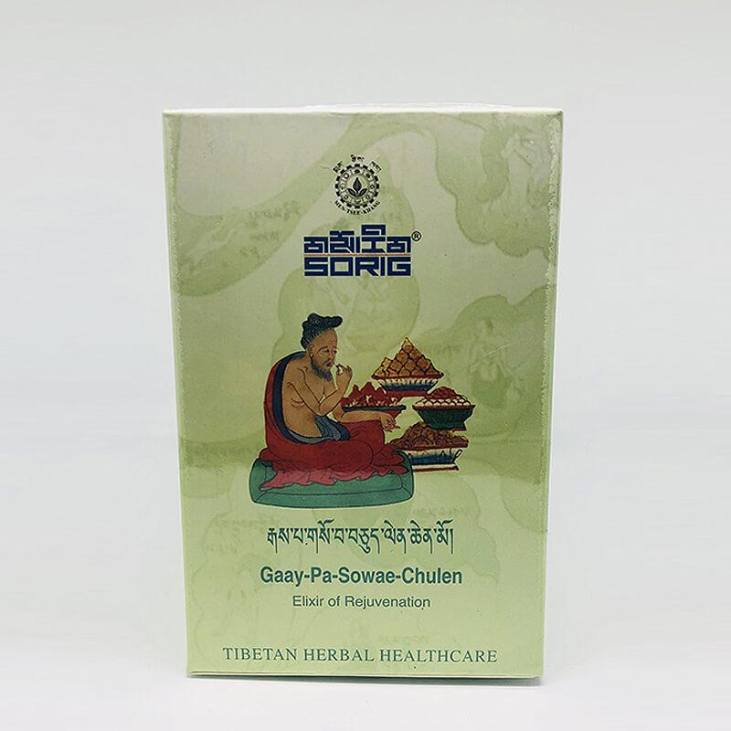 Омолаживающий Тибетский Чай. Гай-Па-Совае-Чулен, 60 г