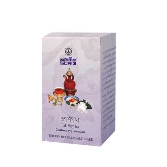 Тибетский чай при Гипертонии. Trak-Shey Tea, 50 g, Sorig