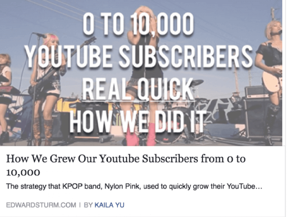 10,000 Youtube Subscribers