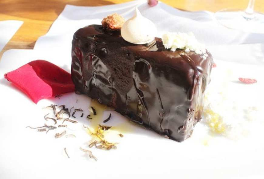 Istria Olive Oil Meneghetti Stancija Chocolate Cake