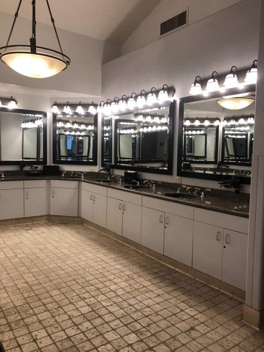 glen ivy hot springs massage - vanity mirrors