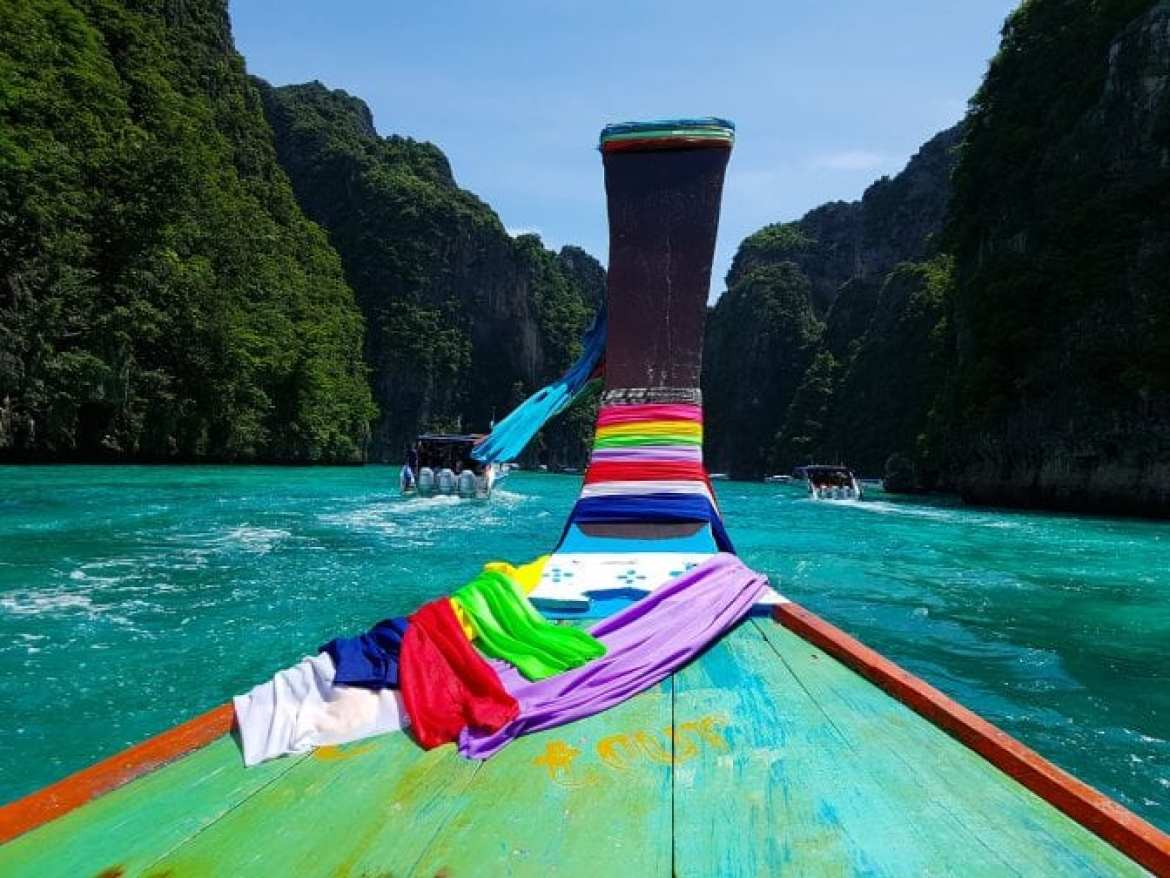 10 day Itinerary Southern Thailand - phi phi islands