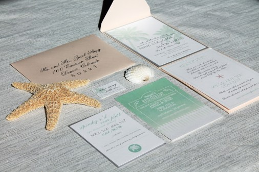 Saint Barths Destination Wedding Invitation