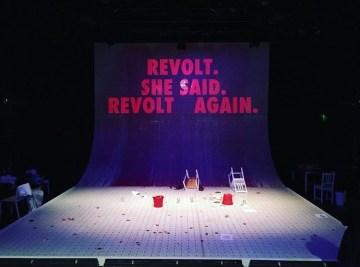 'Revolt. She Said. Revolt Again.', 12th Avenue Arts, 2016
