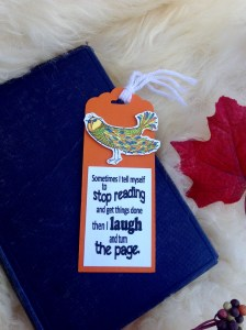 Kailyard - Stop Reading Bookmark