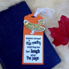 Kailyard - Stop Reading Bookmark