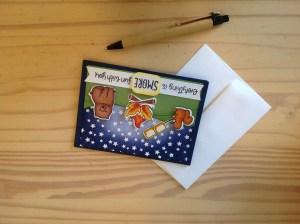 Kailyard- S'more Fun Greeting Card With Envelope