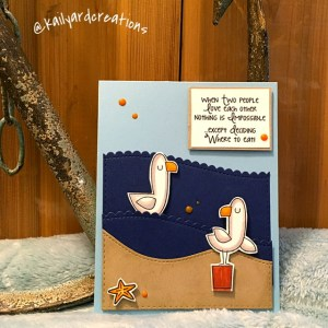 Seagull Love Greeting Card
