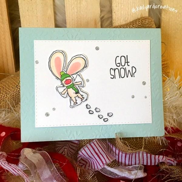 Kailyard Creations Got Snow Greeting Card