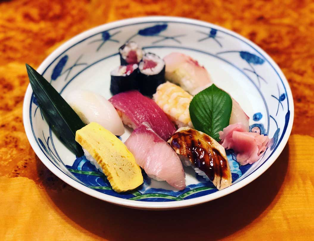 杉寿しさんのお寿司
