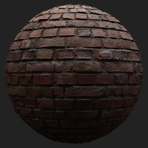 3D Scanned Seamless Old Brick Wall Material
