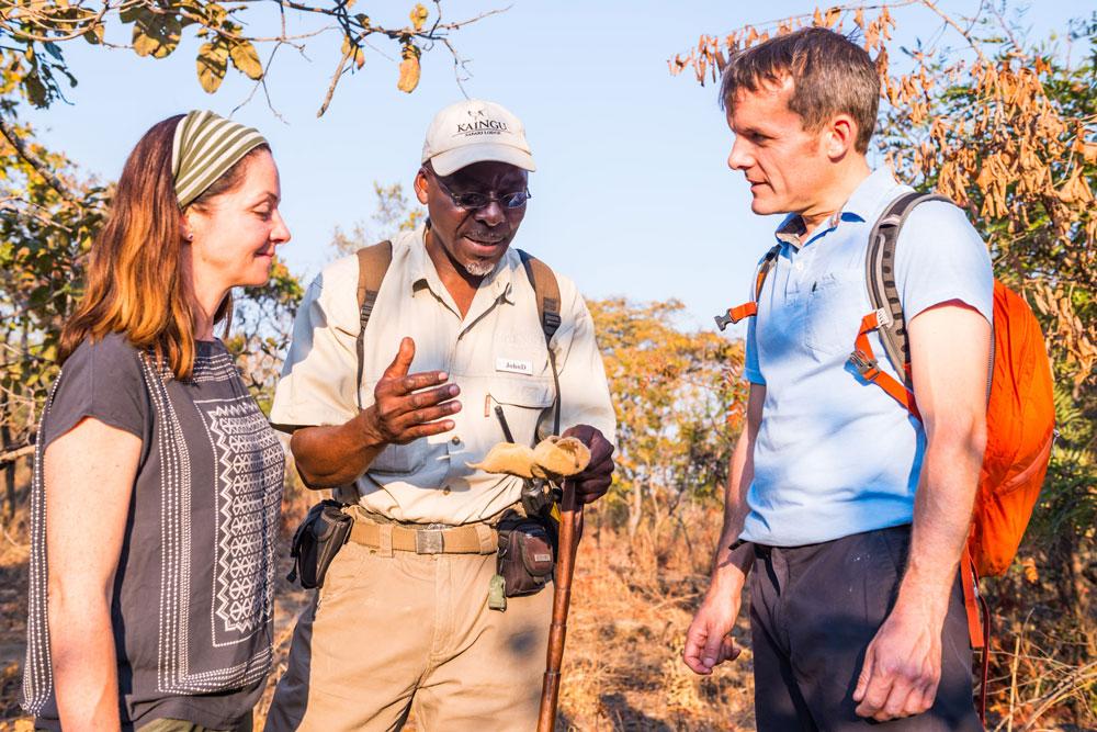 Sambia zu Fuß