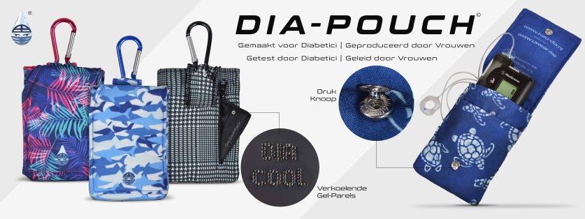 Dia-Pouch, een populaire accessoire voor de Freestyle Libre