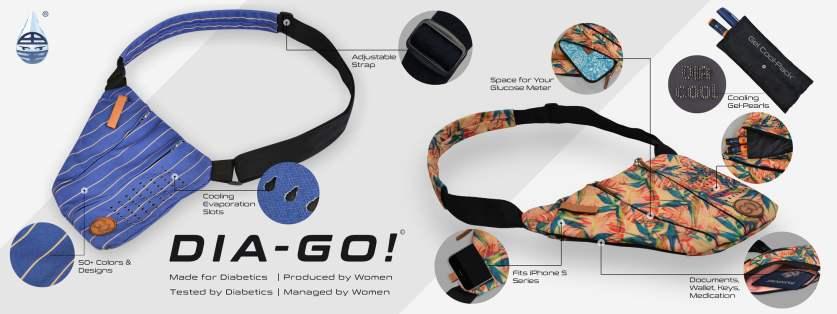 Dia-Go, de perfecte gekoelde tas voor actieve diabeten