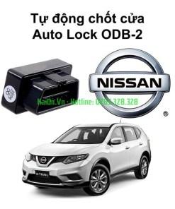Bộ chốt cửa tự động Auto lock Unlock xe Nissan