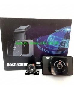 Camera hành trình Kavitech 50DVR RoadCam - Dual - cam ghi hình trước sau