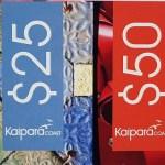 KAIPARA COAST GIFT VOUCHER $50