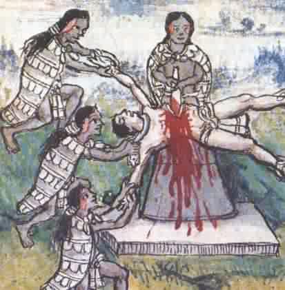sacrifices humains au Mont-Blanc