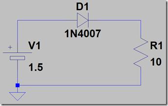 ダイオード回路図