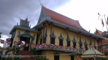 One of the buildings at Wat Ouna Lom