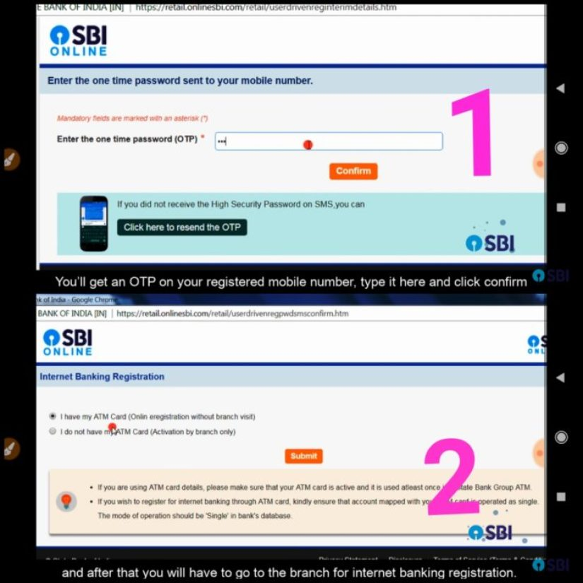 how to open Online  Sbi Netbankig । Internet Banking open without going branch