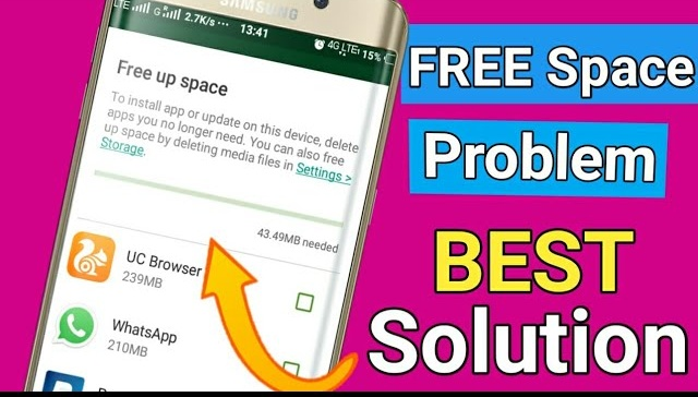 Not Enough Space problem on playstore..!!Best Solution is  here । How to Solve Free up Space problem by kkh