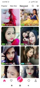 Online video chat app in hindi MeMe