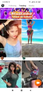 Online video chatting app details in hindi, Kwai