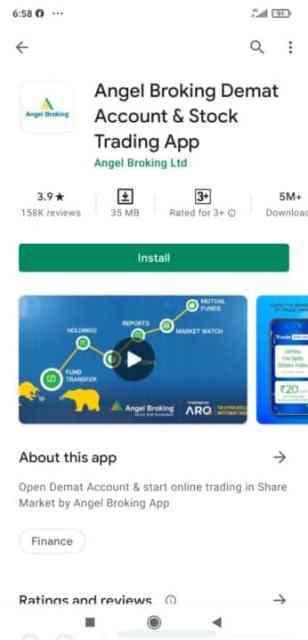 Angel broking stock trading app