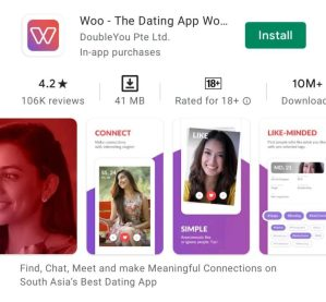 Woo डेटिंग ऐप