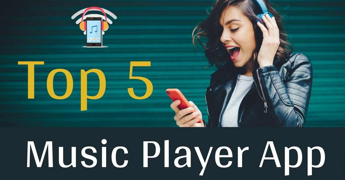 Top 5 online music player applications 2021.
