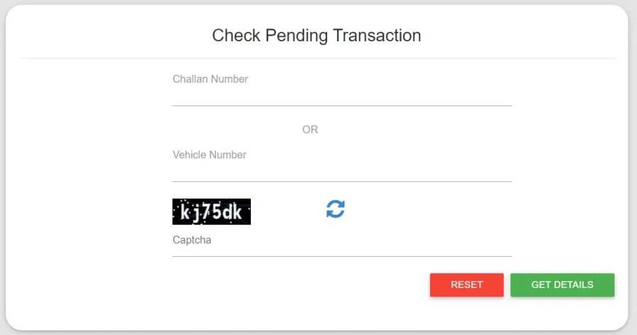 E-challan status check kaise kare
