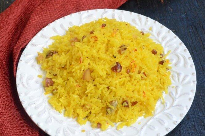 Zarda Recipe in Hindi