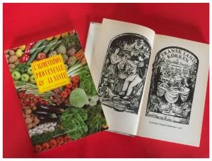 Retrokogebøger om fransk mad