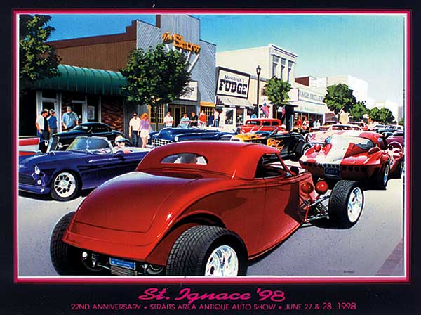 Muscle Car And Hot Rod Art Drag Racing Technical