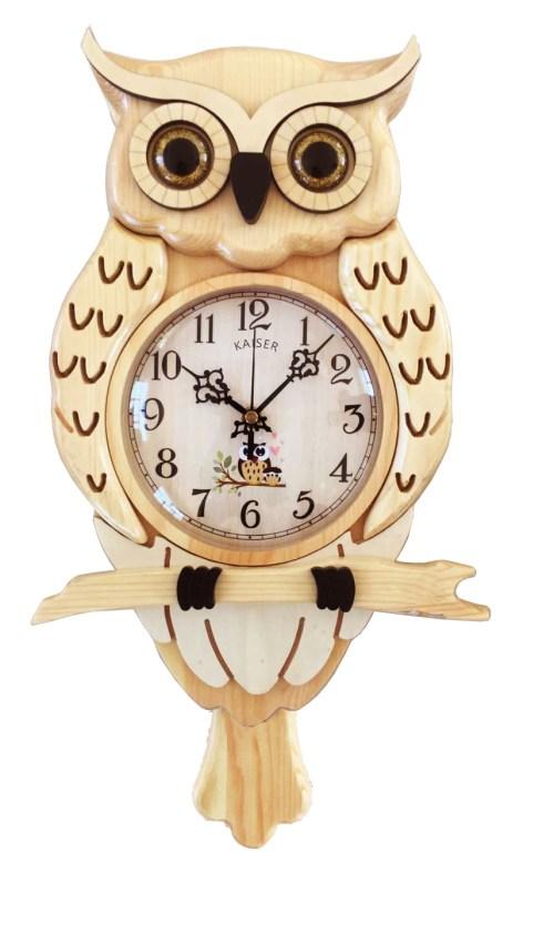 KA035N - A18KCKA035M Owl Clock