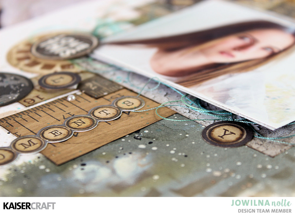 Documented Layout with hints of colour by Jowilna Nolte
