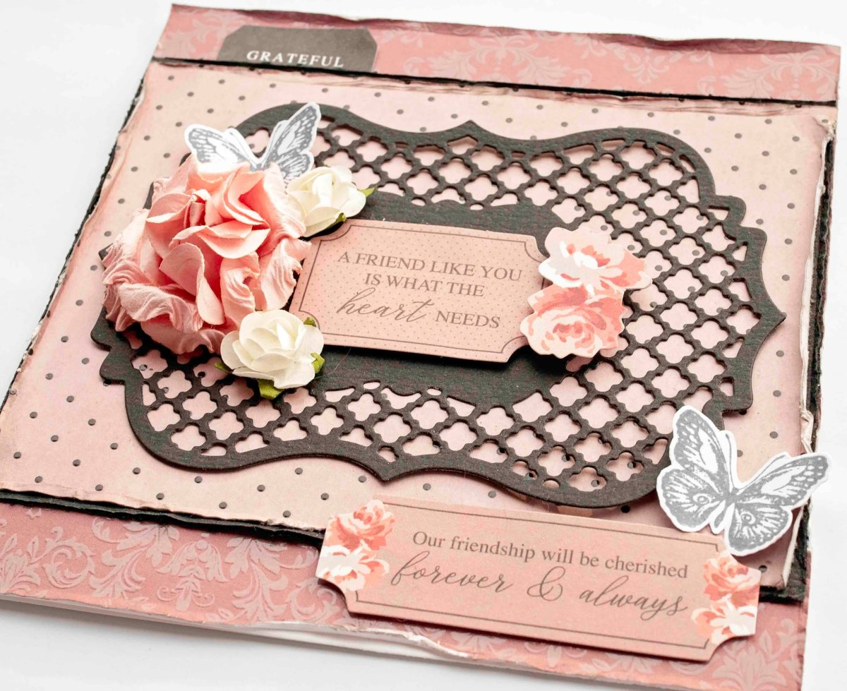 Rosabella Ornate Bracket Layering Die Cards