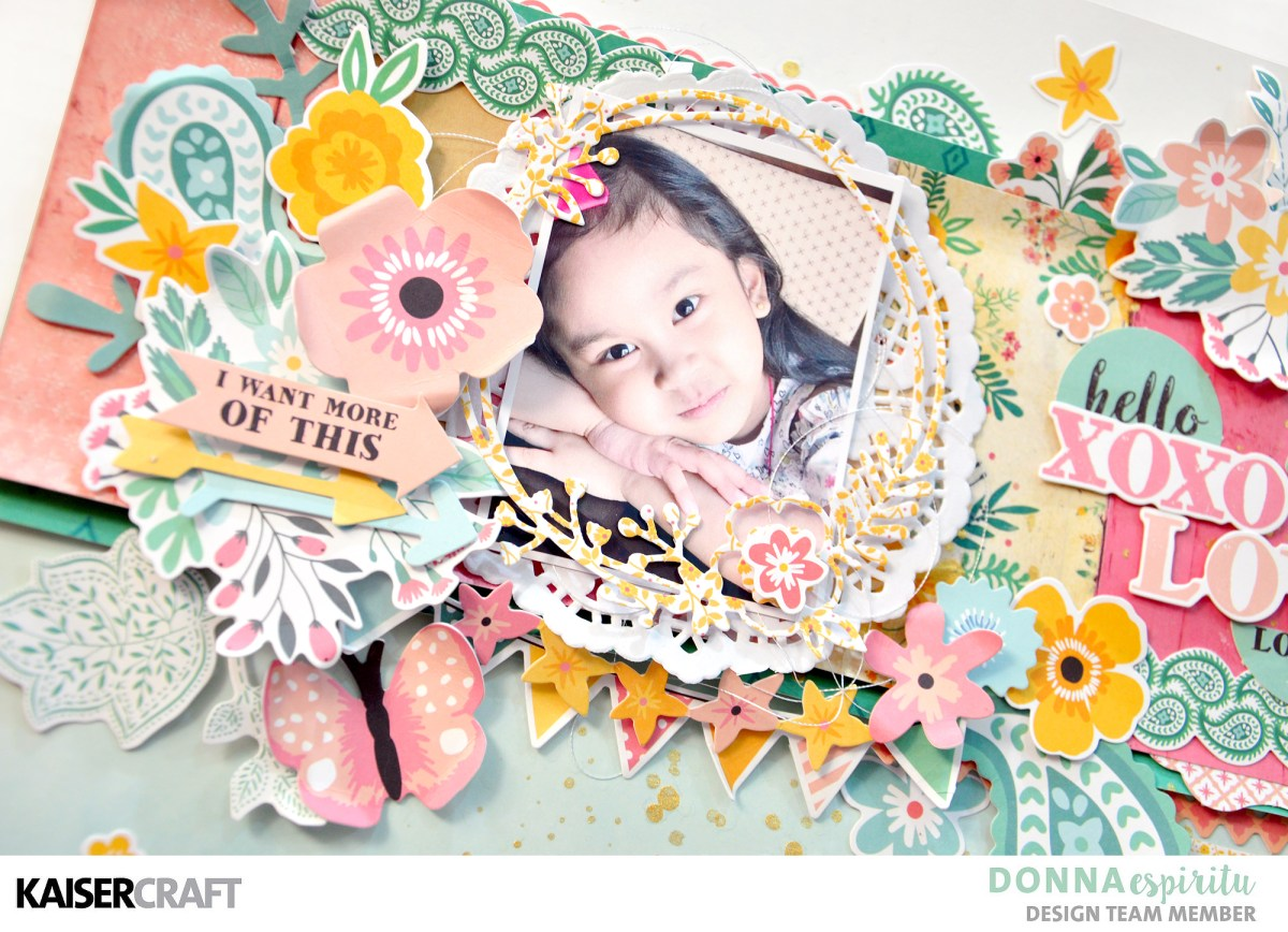"""Paisley Days"" Scrapbook Layout Tutorial"